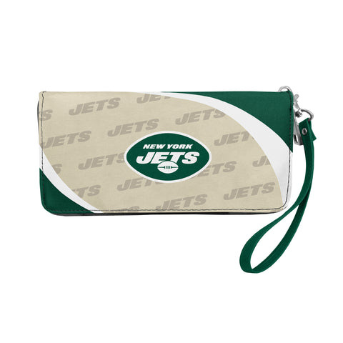 New York Jets Curve Zip Organizer Wallet