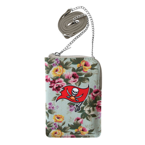Tampa Bay Buccaneers Canvas Floral Smart Purse