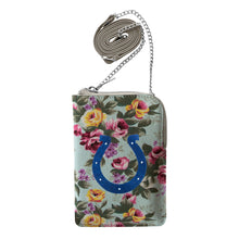 Load image into Gallery viewer, Indianapolis Colts Canvas Floral Smart Purse
