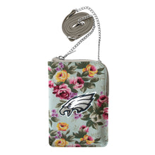 Load image into Gallery viewer, Philadelphia Eagles Canvas Floral Smart Purse