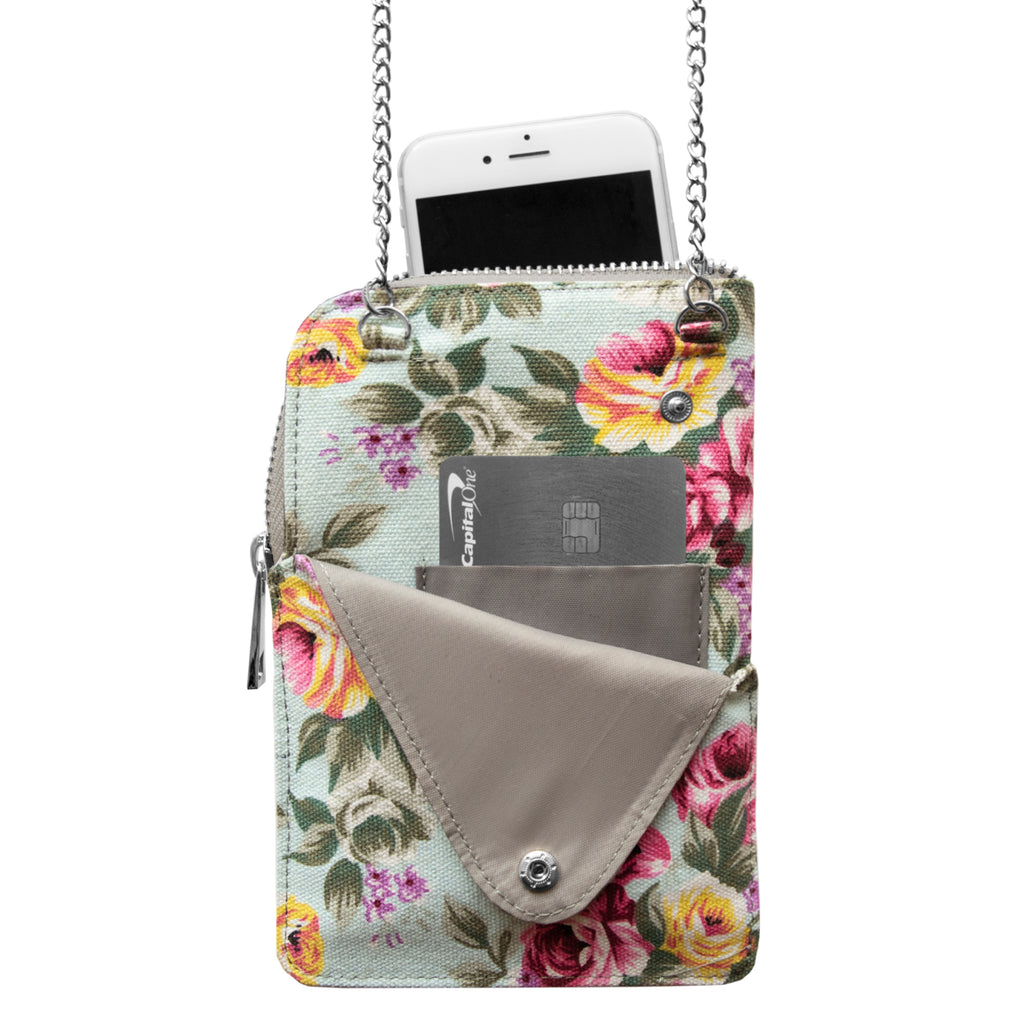 Atlanta Falcons Canvas Floral Smart Purse