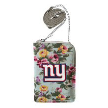 Load image into Gallery viewer, New York Giants Canvas Floral Smart Purse