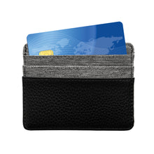 Load image into Gallery viewer, Oakland Raiders Pebble Front Pocket Wallet