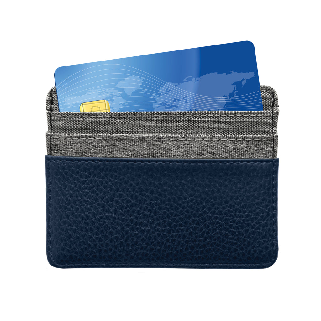 Seattle Seahawks Pebble Front Pocket Wallet