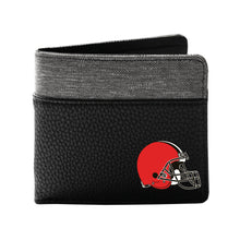 Load image into Gallery viewer, Cleveland Browns Pebble Bi-Fold Wallet