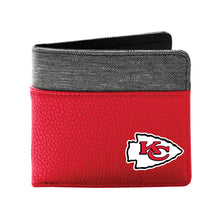 Load image into Gallery viewer, Kansas City Chiefs Pebble Bi-Fold Wallet