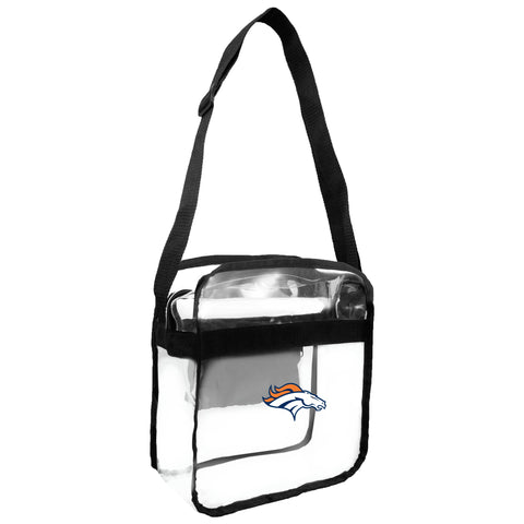 Denver Broncos Clear Carryall Crossbody
