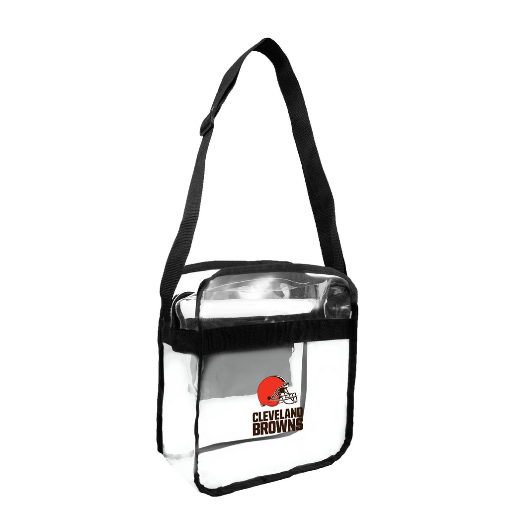 Cleveland Browns Clear Carryall Crossbody