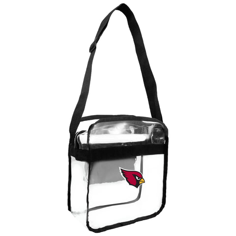 Arizona Cardinals Clear Carryall Crossbody