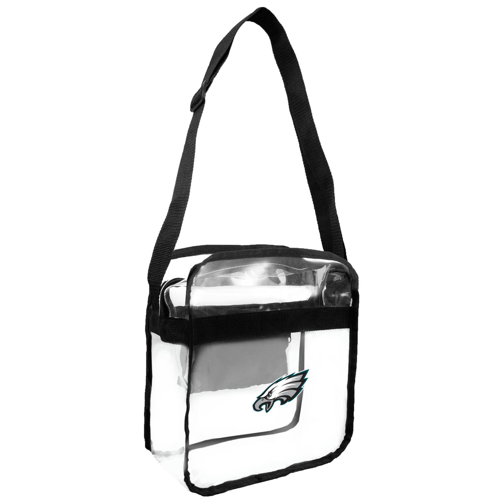 Philadelphia Eagles Clear Carryall Crossbody