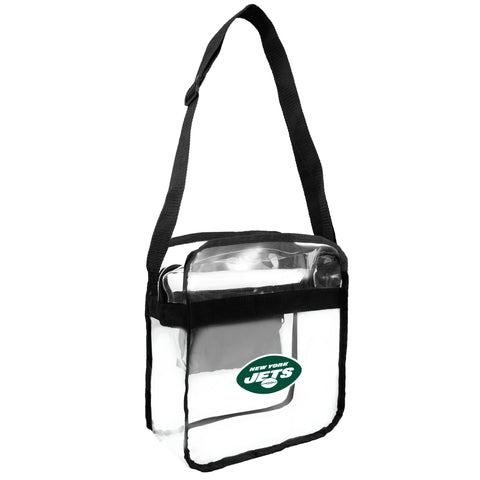 New York Jets Clear Carryall Crossbody