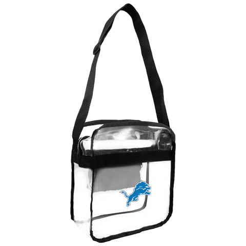 Detroit Lions Clear Carryall Crossbody
