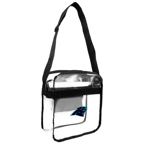 Carolina Panthers Clear Carryall Crossbody
