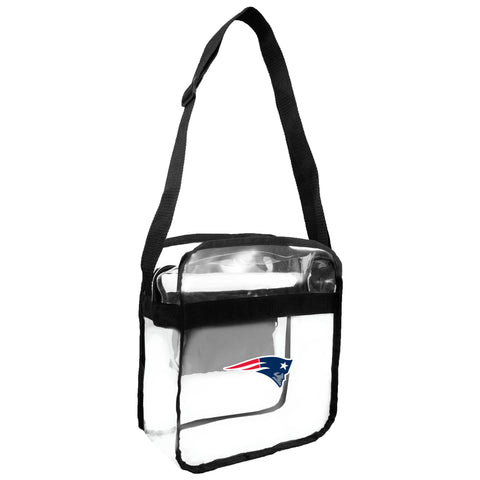 New England Patriots Clear Carryall Crossbody