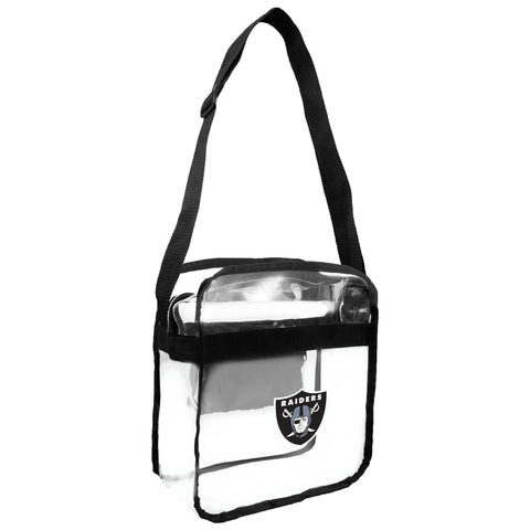 Oakland Raiders Clear Carryall Crossbody