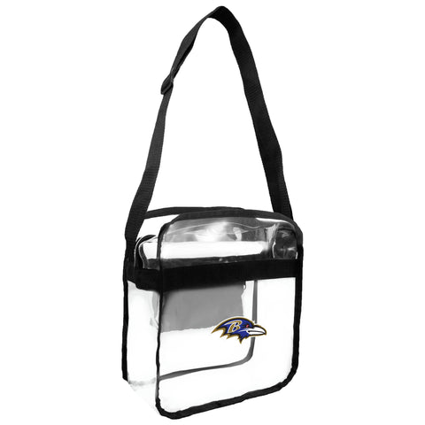 Baltimore Ravens Clear Carryall Crossbody