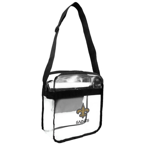 New Orleans Saints Clear Carryall Crossbody
