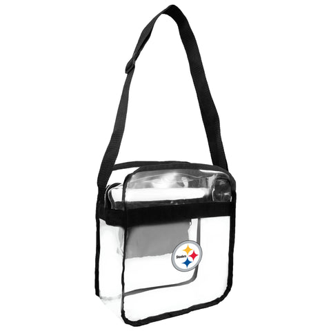Pittsburgh Steelers Clear Carryall Crossbody