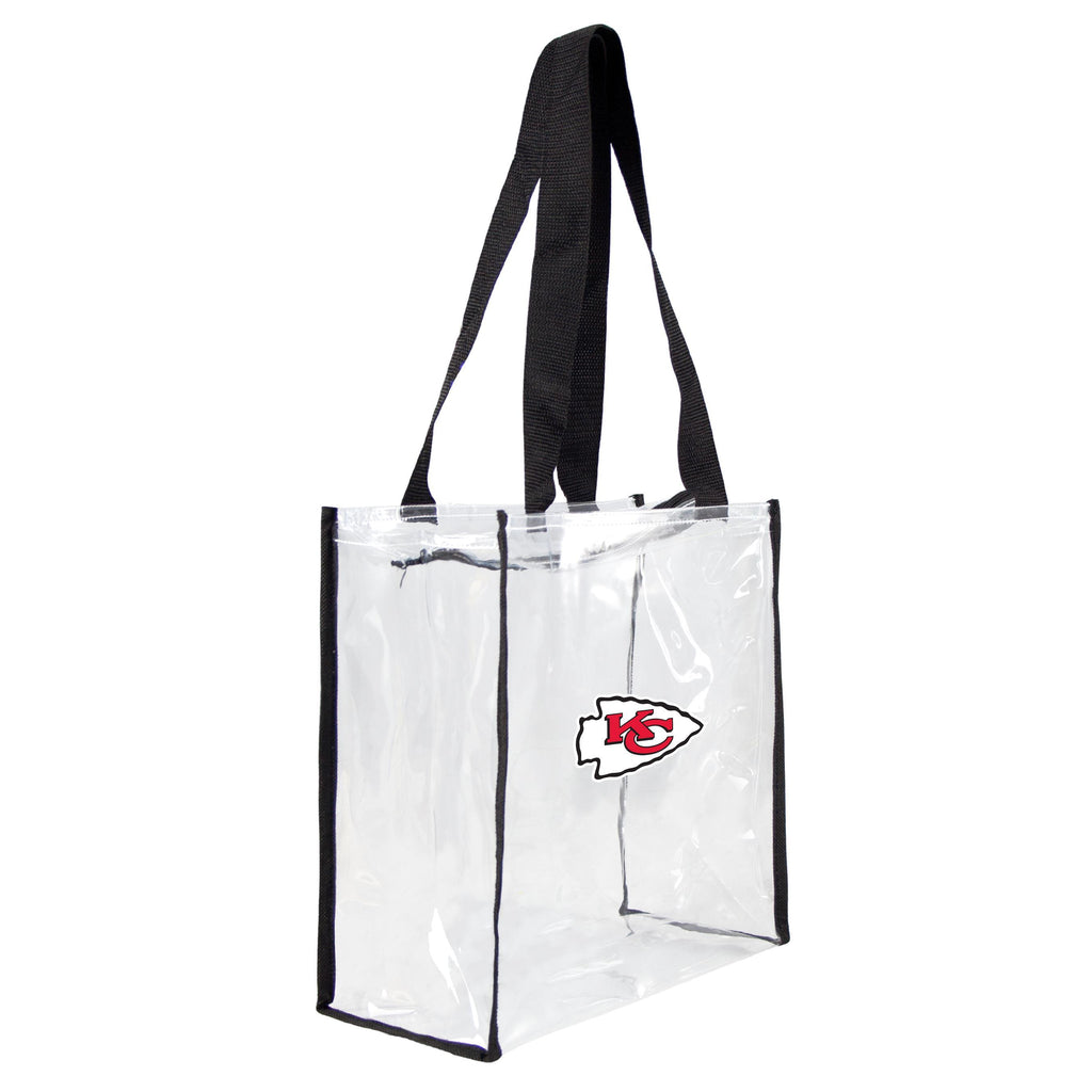 Kansas City Chiefs Clear Square Stadium Tote