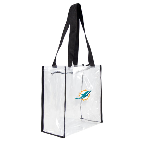 Miami Dolphins Clear Square Stadium Tote