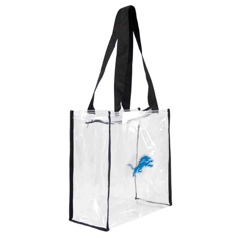 Detroit Lions Clear Square Stadium Tote