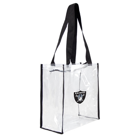 Oakland Raiders Clear Square Stadium Tote