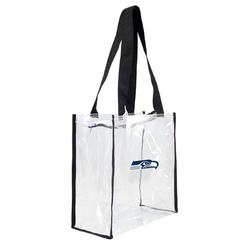 Seattle Seahawks Clear Square Stadium Tote