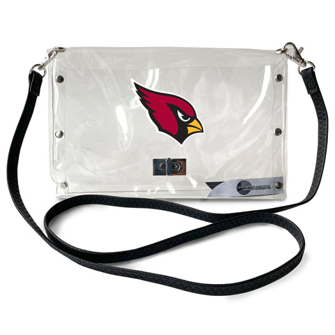 Arizona Cardinals Clear Envelope Purse