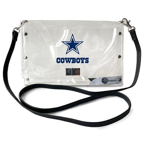 Dallas Cowboys Clear Envelope Purse