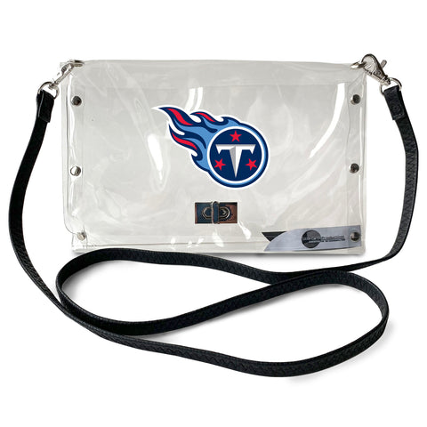 Tennessee Titans Clear Envelope Purse