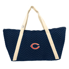 Load image into Gallery viewer, Chicago Bears Chev Stitch Weekender