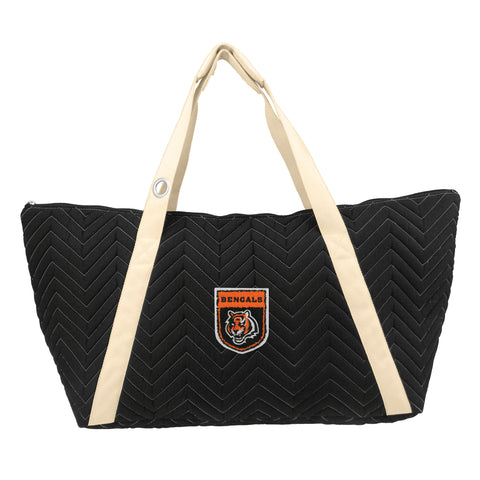 Cincinnati Bengals Crested Chev Stitch Weekender