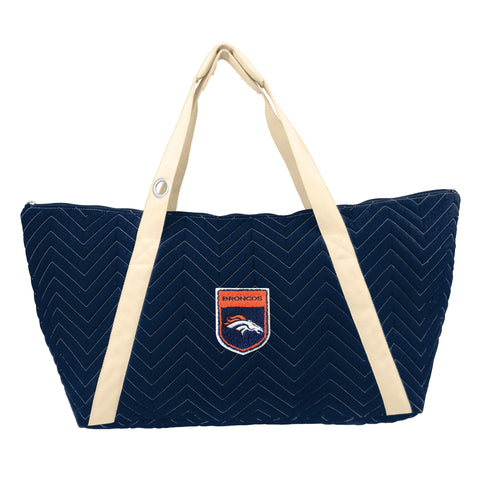 Denver Broncos Crested Chev Stitch Weekender