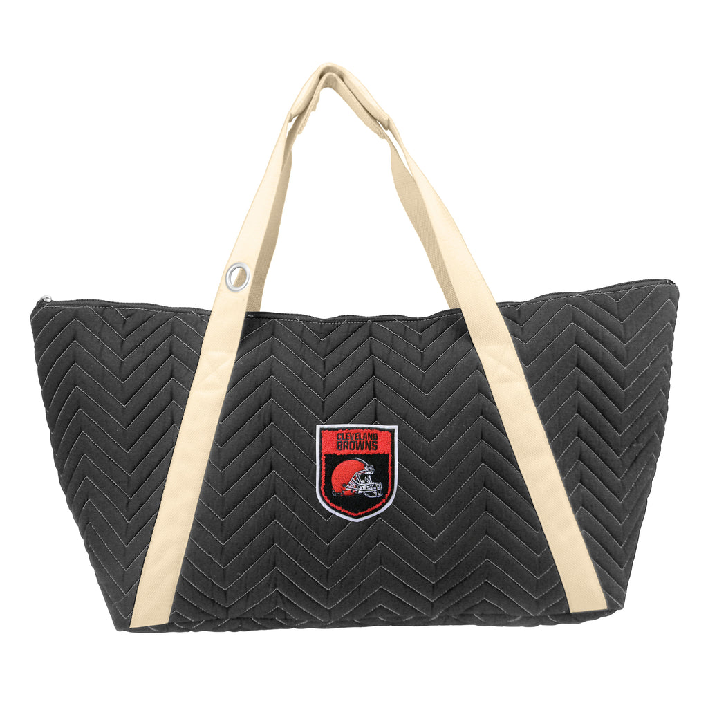 Cleveland Browns Crested Chev Stitch Weekender