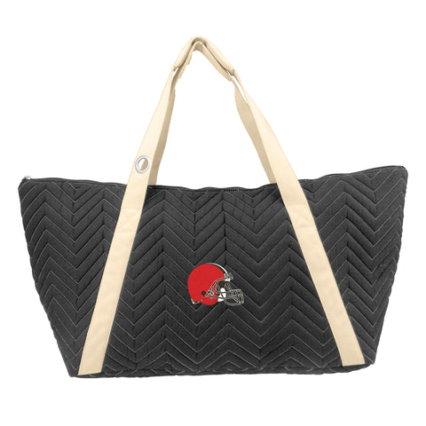 Cleveland Browns Chev Stitch Weekender