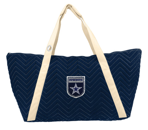 Dallas Cowboys Crested Chev Stitch Weekender