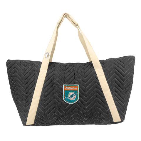 Miami Dolphins Crested Chev Stitch Weekender