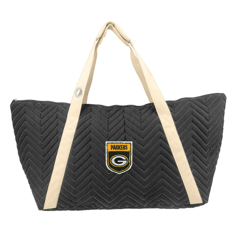 Green Bay Packers Crested Chev Stitch Weekender