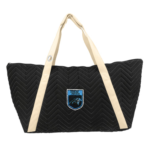 Carolina Panthers Crested Chev Stitch Weekender