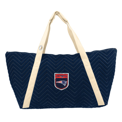 New England Patriots Crested Chev Stitch Weekender