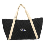 Baltimore Ravens Chev Stitch Weekender
