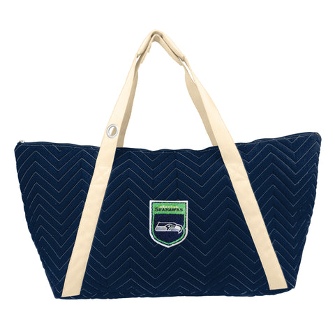 Seattle Seahawks Crested Chev Stitch Weekender