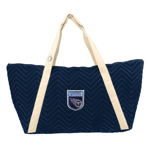 Tennessee Titans Crested Chev Stitch Weekender
