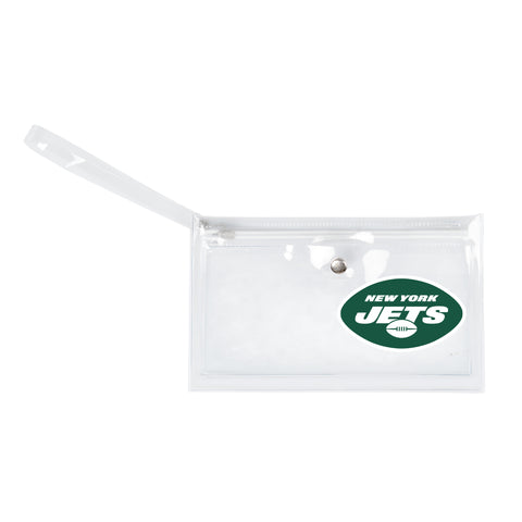 New York Jets Clear Ticket Wristlet