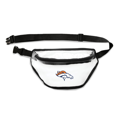 Denver Broncos Clear Fanny Pack