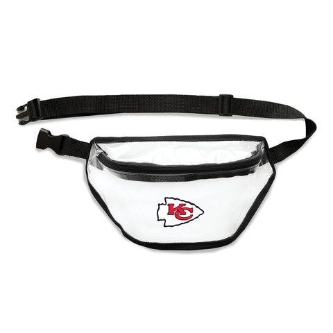 Kansas City Chiefs Clear Fanny Pack