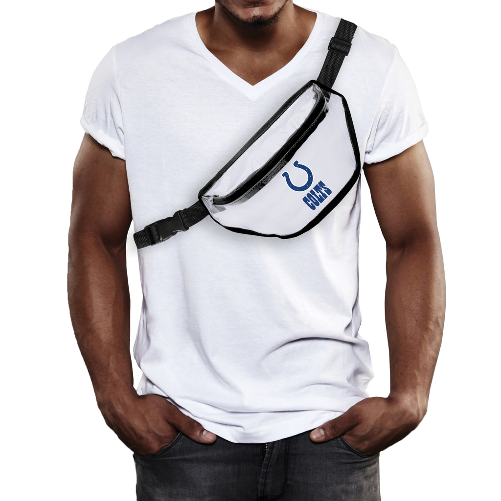 Indianapolis Colts Clear Fanny Pack