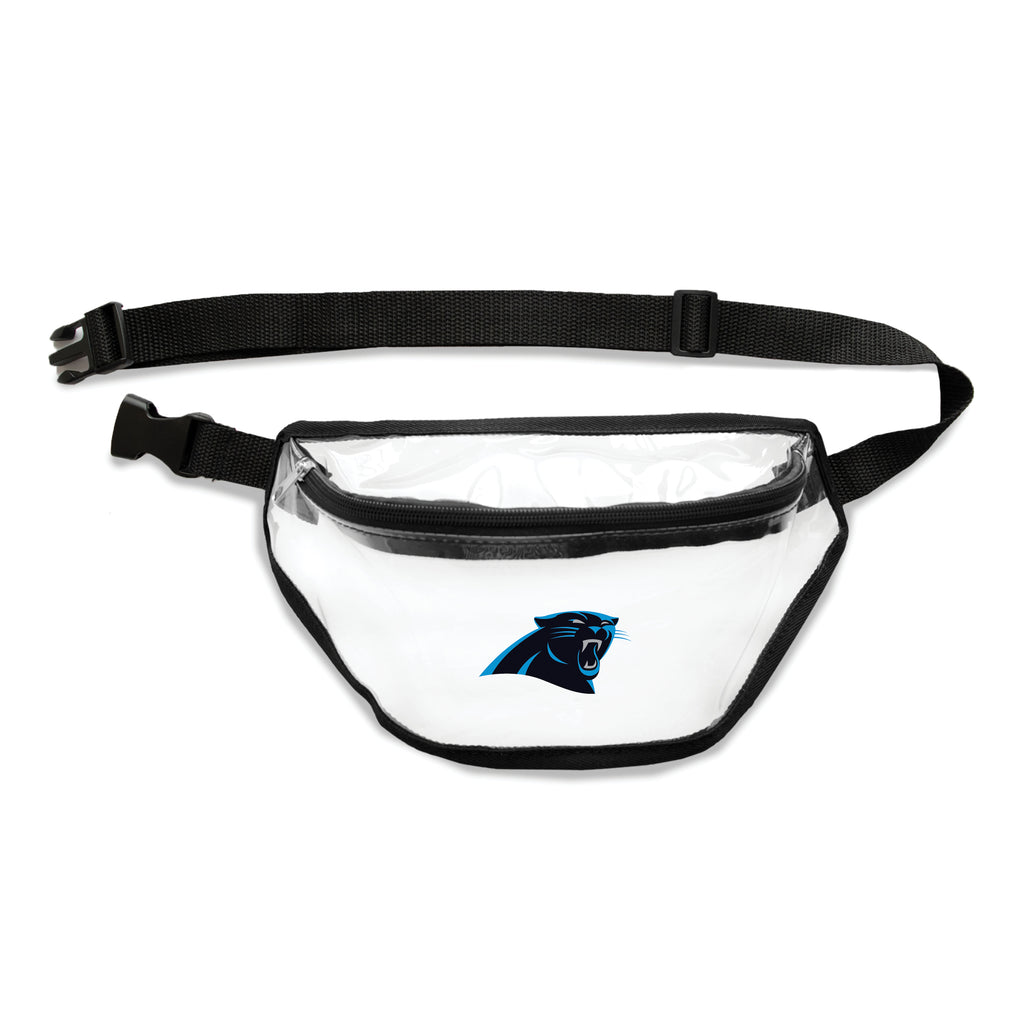 Carolina Panthers Clear Fanny Pack