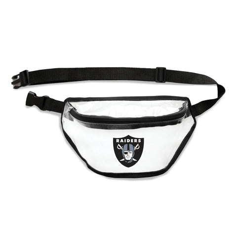 Oakland Raiders Clear Fanny Pack
