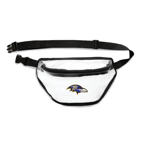 Baltimore Ravens Clear Fanny Pack